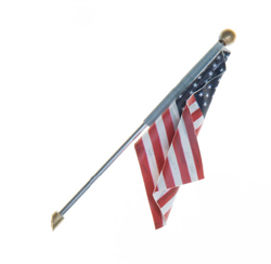 Woodland Scenics Small US Flag Wall Mount, DUE 4/30/2019, LIST PRICE $9.99