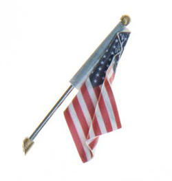 Woodland Scenics Medium US Flag Wall Mount, LIST PRICE $10.99
