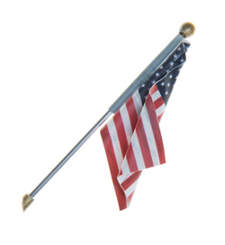 Woodland Scenics Large US Flag Wall Mount, DUE 4/30/2019, LIST PRICE $12.99