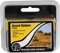 Woodland Scenics Accent Shakers, LIST PRICE $4.99