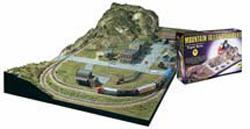 Woodland MOUNTAIN VALLEY SCENERY KIT, LIST PRICE $93.99