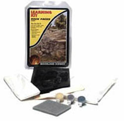 Woodland Scenics ROCK FACES LEARNING KIT, LIST PRICE $16.99