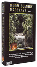 Woodland MODEL SCENERY MADE EASY VIDEO, LIST PRICE $24.99