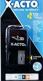 X-Acto Blade #2 dispenser    15/, LIST PRICE $8.56