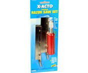 X-Acto Razor saw set carded, LIST PRICE $14.43