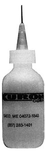"Xuron 2oz Bottle .010"" ID ndl, LIST PRICE $6.3"