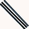 "Zona Tools 3 BLADES .250""X.015"" 15TPI, LIST PRICE $2.7"