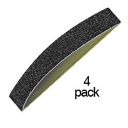 Zona Tools 3/4in Sanding Bands 2ea 150,240,320, LIST PRICE $6.9