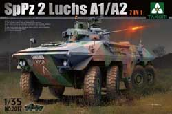 TAKOM MODELS Bundes SppZ2 Luchs A1/A2 1:35, LIST PRICE $62.99