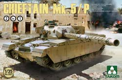 TAKOM MODELS Chieftain Mk.5/P Bmbt 2'n1 :35, LIST PRICE $69.99