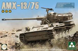 TAKOM MODELS Idf Light Tank Amx-13/75 1:35, LIST PRICE $53.95