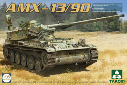 TAKOM MODELS French Light Tank Amx-13 1:35, LIST PRICE $53.95