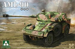 TAKOM MODELS Fr Lt Armoured Cvar Aml-90 :35, LIST PRICE $41