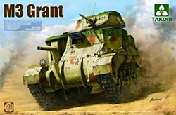TAKOM MODELS British M3 Tank'Genl Grant':35, LIST PRICE $51