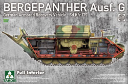 TAKOM MODELS Bergepanther Ausf.G 1:35, LIST PRICE $999.99