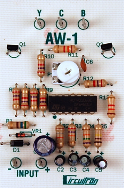 Circuitron Arc welder circuit, LIST PRICE $29.95