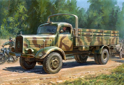 Zvezda Model Kits 1/35 German heavy 4.5T Truck Mercedes 4500S, NT, LIST PRICE $44.35
