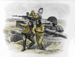 Zvezda Model Kits 1/35 Russian Modern Tank Crew, LIST PRICE $12.5