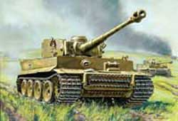 Zvezda Model Kits 1/35 Tiger I Ausf. E, Early Production-New Tooling, LIST PRICE $50