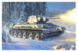 Zvezda Model Kits 1/35 SOVIET T34/76 TANK , DUE 7/30/2019, LIST PRICE $38.99