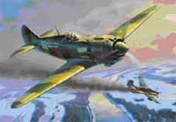 Zvezda Model Kits 1/48 Lavoshkin La-5 WWII Fighter, LIST PRICE $30