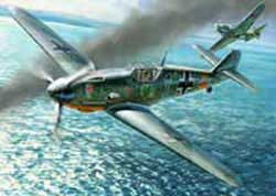 Zvezda Model Kits 1/48 Messerschmitt Bf-109 F4, LIST PRICE $32.3