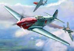 Zvezda Model Kits 1/48 Yakovlev YAK-3 Soviet WWII Fighter NT, LIST PRICE $32.5