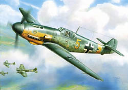 Zvezda Model Kits 1/144 Messerschmitt BF-109 F-2, LIST PRICE $5.5