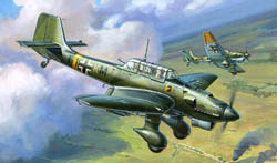 Zvezda Model Kits 1/144 Junkers JU-87 Stuka, New Tooling, LIST PRICE $5.5