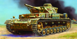 Zvezda Model Kits 1/100 Pz IV Ausf.D, Snap Kit, LIST PRICE $5.5