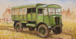 "Zvezda Model Kits 1/100 British WWII Truck ""Matador"" Snap Kit, LIST PRICE $5.5"