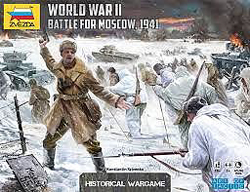 Zvezda Model Kits BATTLE for MOSCOW GAME 1941, LIST PRICE $85.95