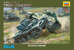 Zvezda Model Kits TANK COMBAT BATTLE WW-II GAMR, LIST PRICE $31.75