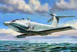 Zvezda Model Kits EKRANOPLAN A-90 1:144, LIST PRICE $30.25