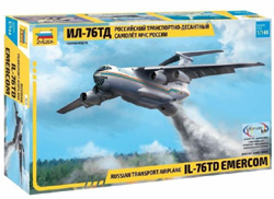 Zvezda Model Kits 1:144 RUSSIAN IL76TD AIR , LIST PRICE $55.99