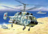 Zvezda Model Kits KAMOV Ka-29 SUPPORT HELI 1:72 , LIST PRICE $18.3