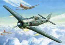 Zvezda Model Kits FOCKE WULF 190A-4 1:72, LIST PRICE $13.95
