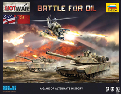 Zvezda Model Kits HOT WAE BATTLE for OIL WARGAME, LIST PRICE $73