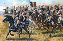 Zvezda Model Kits 1/72 French Cuirassiers 1807-15 New Tool, LIST PRICE $13.25