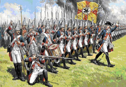 Zvezda Model Kits 1/72 Grenadiers Of Frederick II The Great, NT, LIST PRICE $13.25