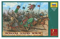 Zvezda Model Kits 1/72 MONGOLS GOLDEN HORDE , LIST PRICE $21.99