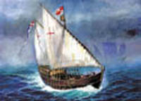 Zvezda Model Kits CHRISTOPHER COLUMBUS NINA :100, LIST PRICE $35