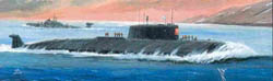 Zvezda Model Kits KURSK RUSSIAN NUCLEAR SUB :350, LIST PRICE $42