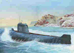 Zvezda Model Kits K-19 SOVIET NUCLEAR SUB 1:350 , LIST PRICE $23
