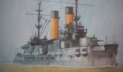 Zvezda Model Kits BATTLE CRUISER BORODINO 1:350 , LIST PRICE $42