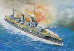 "Zvezda Model Kits 1/350 Russian Battleship ""Sevastopol"", New Tooling, LIST PRICE $104.95"