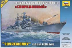 Zvezda Model Kits Russian Dest Sovremenny 1:700, LIST PRICE $26