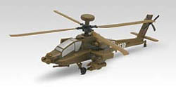 Revell Monogram AH-64D APACHE SnapNplay 1:100 , LIST PRICE $9