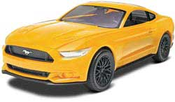 Revell-Monogram '15 MUSTANG GT Yellow 1:25, LIST PRICE $12.95