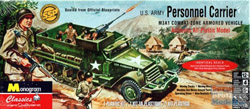 Revell Monogram M3A1 Personal Carrier, LIST PRICE $24.95
